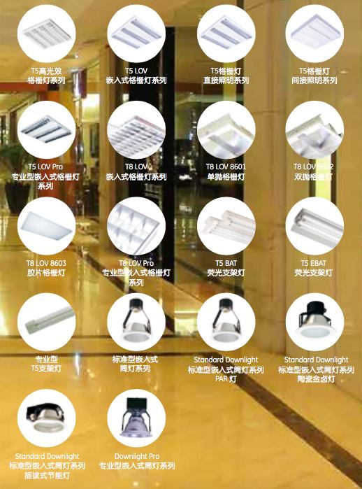灯具-商业室内